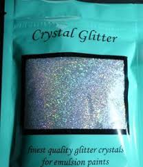 diy glitter furniture. Crystal Glitter For Emulsion Paint, Diamond Silver With Holographic Crystals In Home, Furniture \u0026 DIY, DIY Materials, Paint Varnish | EBay Diy B