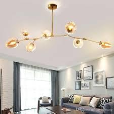 globe branching bubble chandelier modern light lighting lindsey adelman