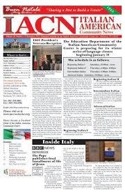 IACN NEWS - Italian American Community Center