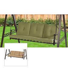 Replacement swing cushions Garden Winds