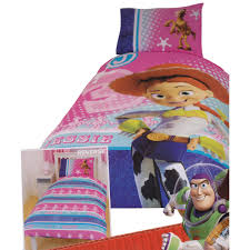 Childrens/Kids Girls Toy Story Jessie Reversible Quilt/Duvet ... & ... Toy Story Jessie Reversible Quilt/Duvet Bedding Set. UTKB283 Adamdwight.com