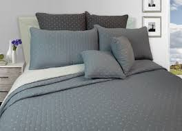 Light Gray Bedspread Cross Inspired Light Blue Quilt Bedspread Set Of 3