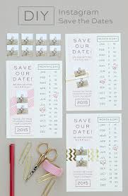 downloadable save the date templates free make your own instagram save the date invitation