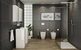 modern bathroom tile gray. Perfect Modern Cool Modern Grey Bathroom Tile Ideas Gray And Black Has  To R