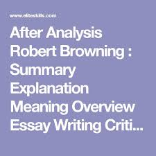 the structure of a critical essay