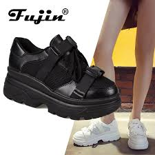 Fujin Muffin Shoes Female Ins Tide Wild <b>European Station</b> 2019 ...