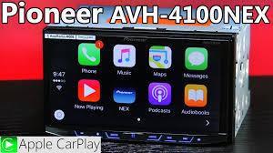pioneer apple carplay. pioneer avh-4100nex bluetooth radio - mirrorlink, apple carplay, android auto youtube carplay i