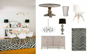 White And Gold Decor Real Deal Steal A Black White And Gold Dining Room The Accent