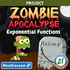 Zombie Apocalypse -- Exponential Function STEM Project & Safety ...