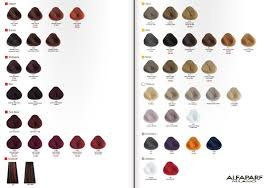 Alfaparf Milano Evolution Of The Color Chart