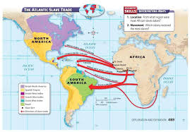 middle passage mr leverett s world history mslavery middlepassage map slavery