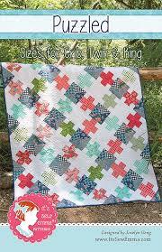 Puzzled Pattern by It's Sew Emma - Fat Quarter Shop's Jolly Jabber ... & Fat quarter shop Adamdwight.com