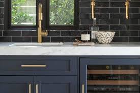 White Cabinets Dark Blue Walls Picture Of Very Kitchen With And ...