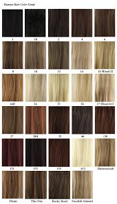 Wig Hair Color Chart Lajoshrich Com