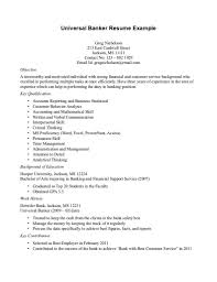 100 Banking Resume With No Experience Medical Assistant