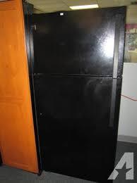 kenmore black refrigerator. black kenmore refrigerator - $200 t