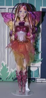 Barbie Doll Light Dressed Barbie Doll 2005 Crystal Fairytopia Light Up