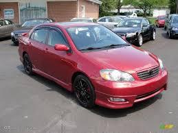 2005 Impulse Red Toyota Corolla XRS #29483833 | GTCarLot.com - Car ...