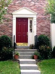 front door colors brick house doors for s design red colours