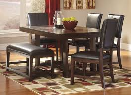 dining room furniture ashley furniture dining table sets wood and metal tables oval solid room chairs watson rectangular view larger best black kitchen