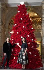 Red Christmas Tree Decoration Ideas