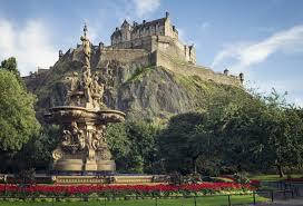 Резултат с изображение за Единбургския замък