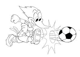 Soccer Coloring Pages Printable Porongurup
