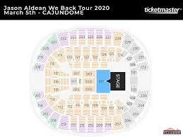 Cajundome Concert Seating Chart Seating Charts Cajundome