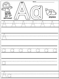 Kindergarten Handwriting Practice Alphabet By Danas Wonderland