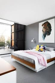 The feature **wall** in the main bedroom is painted in [Dulux