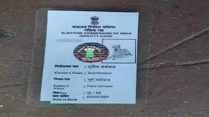 murshidabad man issued voter id card