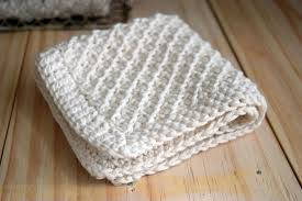 Easy Knit Dishcloth Pattern Delectable Daisy Stitch Washcloth Knitting Pattern FaveCrafts