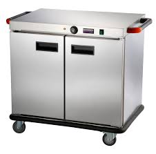 commercial food warmer cart keep warming equipment with wheels