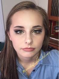 natural makeup look for high color outside the lines i used a mixture of coastal