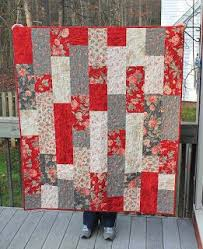 25+ unique Simple quilt pattern ideas on Pinterest | Easy quilt ... & Simple quilt made with 9 fat quarters from: Sew Lux Fabric : Blog: Tifton Adamdwight.com