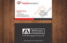 Home Renovation Business Card Template