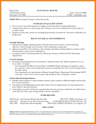 9 Resume Career Summary Mla Cover Page