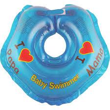 """<b>Круг на шею</b> """"Baby Swimmer"""", цвет: голубой, 3-12 кг — купить в ..."""