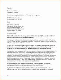 Block Form Business Letter Block Letter Format Business Letter Example Best Block Letter Format