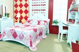 Bedroom ideas for teenage girls red Grey Cute Girl Bedroom Ideas Bright Girls Room With Pink Red And White Theme Teenage Decoration Flowers Bedroom Designs Decoration Cute Teenage Girl Rooms