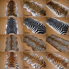 african soft faux fur bedroom fake animal skin print pattern floor rugs rug mat