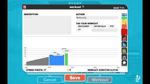 zwift workout builder
