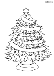 Printable trees coloring page to print and color for free. Christmas Trees Coloring Pages Free Printable Christmas Tree Coloring Sheets