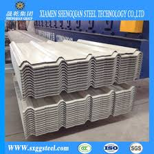 white color galvanized corrugated roofing sheets for house roof pictures photos