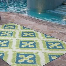 lime green rugs for