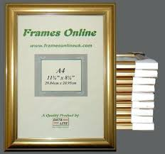 a4 picture frame ten dome gold picture frames a4 picture frame with mount a4 size picture a4 picture frame
