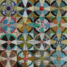 Propeller (Steampunk) quilt blocks with novelty prints. | My ... & Steam Punk Quilt Blocks - Fourth Set Adamdwight.com