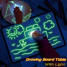 Details About Draw With Light Fun And Developing Toy Drawing Board Magic Draw Educational Gift