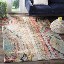 bohemian outdoor rug floor