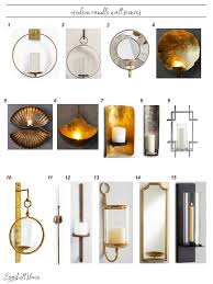 sconce modern wall candle sconces canada dsc large